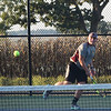 Grant Essenmacher/Daily Clarion Gibson Southern's Jarrett Klusmeier (pictured) headlines the 2018 boys tennis all-county team.