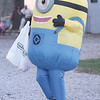 Quiche Matchen/ Daily Clarion<br /> Diesel Coleman collects candy as a minion at the  annual Halloween Spooktacular at New Lake in Oakland City. There was a Halloween walk and trick-or-treating through the campground for attendees.
