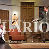 """Madison Brooks/Daily Clarion Carl Johnson as George Hay and Chris MacKay as Howard at dress rehersal for """"Moon Over Buffalo"""" on Tuesday evening."""