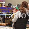 Sarah Loesch/Daily Clarion Nine-month-old Walker Kolb takes a look around the packed Toyota Events Center Saturday morning at the Gibson County Fairgrounds. Visitors filled the fairgrounds for the Collectors Carnival Antique & Flea Market.