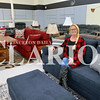 Daily Clarion/Andrea Howe<br /> Debra Walker, owner of Walker's Home Store, is stocking furniture, appliances, TVs and electonics, tools, lawn and garden equipment and other items, intending to open Monday.