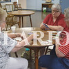 Phyllis Lauderback, Judy Stock and Dianna Skelton enjoy playing phase 10, a card game, Wednesday afternoon at the Gibson County Senior Center.