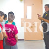 Princeton Community Intermediate School students visit the Gibson County Jail Friday morning. Gibson County Sheriff Tim Coomer explains to children how the jail operates and answers their questions.