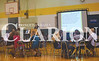 The eighth grade quiz bowl was held in the Wood Memorial Jr High gym Saturday afternoon. Student were quizzed with various academic question.