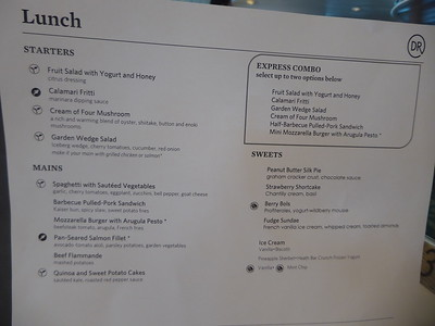 Menus/Food