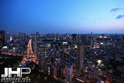 """Tokyo Cityscape Dusk #2"", Tokyo, Japan, 2010 Print JAP16-2498"