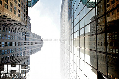 """Chrysler Canyon #3"", NYC, 2013 Print NYC1-0925"