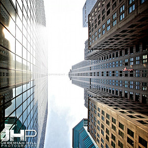 """Chrysler Canyon #2"", NYC, 2013 Print NYC1-0922V2"