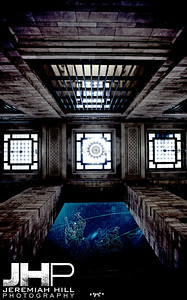 """Interior Hallway Mandala #3"", Grand Central Terminal, NYC, 2013 Print NYC1-0803V2"