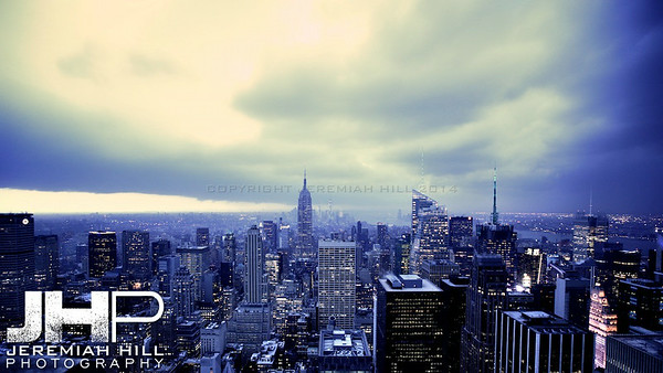 """NYC Storm #9"", NYC, 2013 Print NYC2-0626"