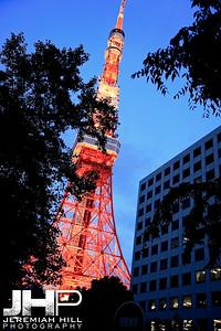 """Tokyo Tower #1"", Tokyo, Japan, 2010 Print JAP16-2466"