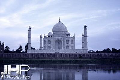 """Blue Taj Sky"", Agra, Uttar Pradesh, India, 2007 Print IND385-282-V2"