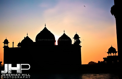 """Sunset From The Taj"", Agra, Uttar Pradesh, India, 2007 Print IND387-043"