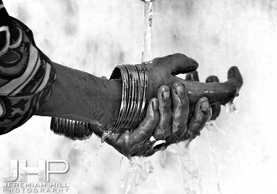 """Hands Of Prayer"", Rishikesh, Uttaranchal, India, 2007 Print IND3714-016"