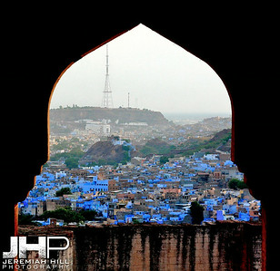 """Jodhpur Arch"", Meherangarh Fort, Jodhpur, Rajasthan, India, 2007 Print IND3920-524"