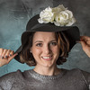 P - Rachel in a Black Hat by Mike Barker - 3rd