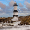 T - Lighthouse in Wales by Marty Barker - 2nd