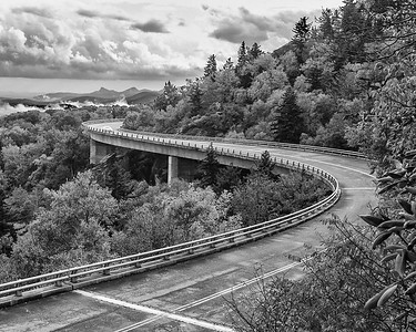 Travel  The Linn Cove Viaduct - North Carolinaby Larry Cameron  Third Place