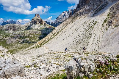 Travel  Hiking Tre Cime, Italy by Dorothy Sansom  Honorable Mention
