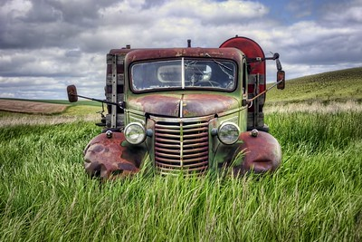 Pictorial  Farm Truck Expression by Nikki McDonald  Third Place