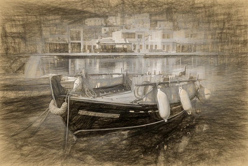 Greek Fishing Boat - Dorothy Sansom -Third Place