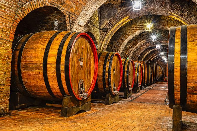 Montepulciano Wine Cellar - Dorothy Sansom - Second Place