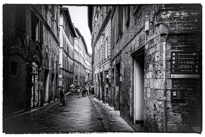 Rainy Day in Siena - Dorothy Sansom - First Place