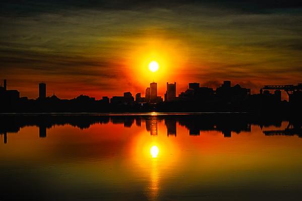 Boston from Castle Island
