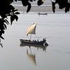 L1288 Sand boat on Ganges at Allahabad