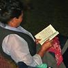 L0941 Tibetan Buddhist reading. Dharamsala