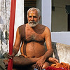 L1292 Dandi Swami with staff, Allahabad