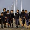 L1756 School kids. Rishikesh
