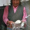 L2282 Tsampa, barley flour. Lhasa, Tibet
