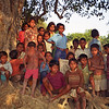 L2154 Village kids. Chatnag, Allahabad