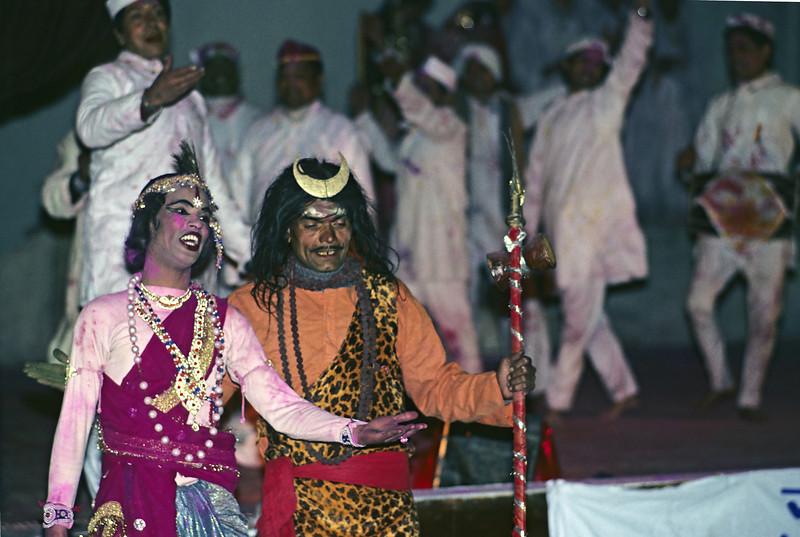 L1792 Songs of Krishna and Radha during a play at Nainital.