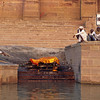 L1534 Cremation of woman, Benares