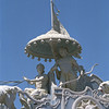 L2950 Krishna and Arjuna in Chariot, Swaragashram, Rishikesh