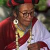 L0934 Tibetan Buddhist with mala. Dharamsala