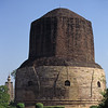 L1674 Dhamek Stupa, Sarnath. Where Buddha gave his first sermon. Varanasi