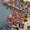 L2319 Before Shivaratri, members from villages make a pilgrimage to Hardwar to bring water back for the ceremonies.