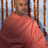 L2746 Swami from Divine Life Society in meditation, Rishikesh