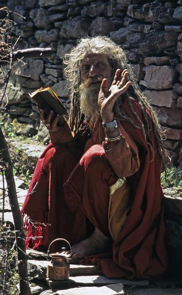 L1696 Hermit sadhu, Simla