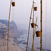 L1239 Ganges water pots at Benares