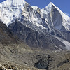 L1196 Bhagirathi Parbat 1-2-3 above glacier at Gomuk, source of the Ganges