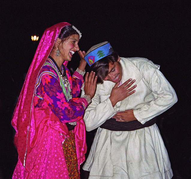 L0932 Traditional dancers, Dharamsala