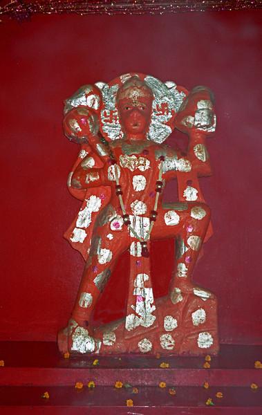 L0999 Hanuman, Virbhadra Temple site, Rishikesh
