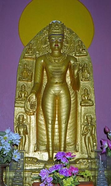 L247 Buddha statue, Bodh Gaya