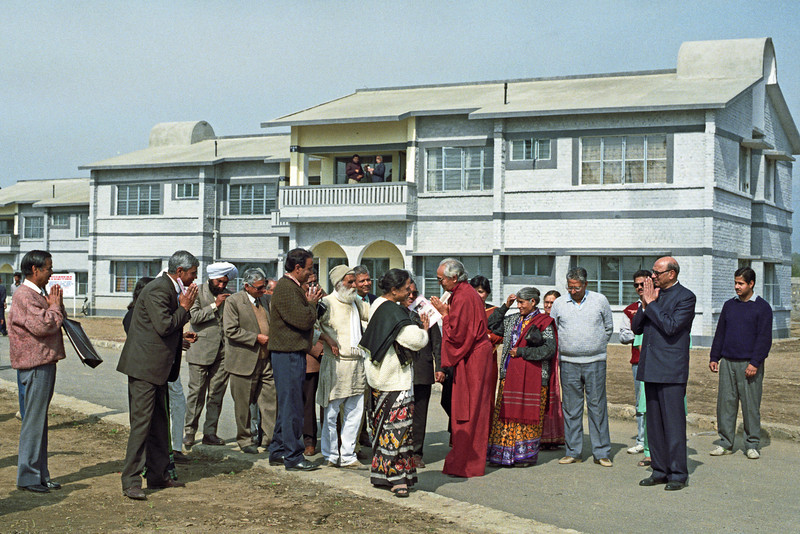 L3062 Swami Rama at his hospital site, Jolly Grant