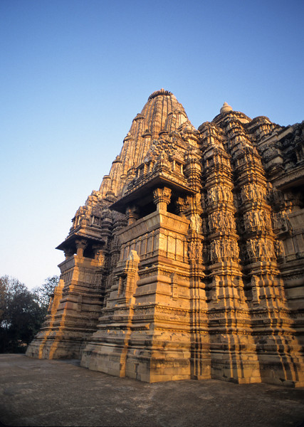L1091 Kandariya Mahadeva Temple. Instead of books, the buildings were its texts. Building design is often based on the 7 chakras, bottom to top.