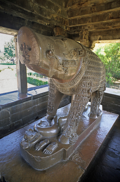 L1094 Varaha Temple. Varaha is the third incarnation of Vishnu, represented as a boar.